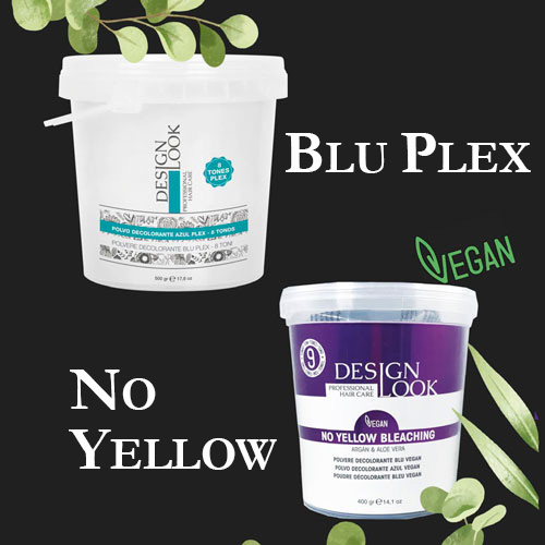 DECOLORING BLUE PLEX - NO YELLOW BLEACHING VEGAN