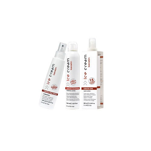 GLASS KERATIN - spray, en, texturizer - INEBRYA