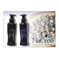 NACRÈO MAN - BLACK biserov in srebra GEL - PRECIOUS HAIR
