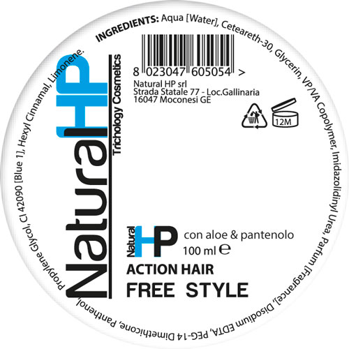 ACTION HAIR - paste for hair