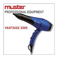 Secador de cabelo VANTAGE 3300 - MUSTER