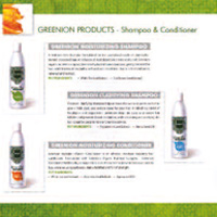 GREENION PRODUCTS - natual ingredients