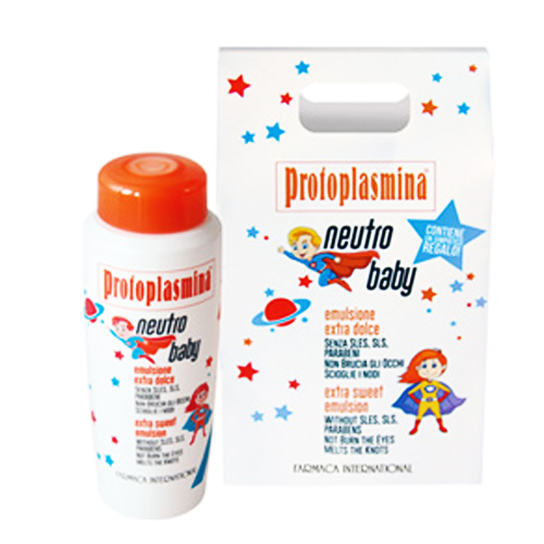 SPESIELLE PROTOPLASMINA: NEUTROBABY SJAMPO - FARMACA INTERNATIONAL