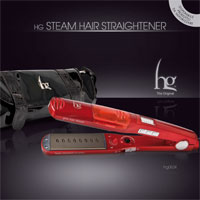 HG STEAM HAIR STRAIGHTENER - HG