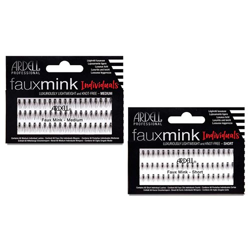 FAUX MINK STRIPS INDIVIDUALS