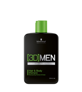 HAIR & BODY SAMPON - SCHWARZKOPF